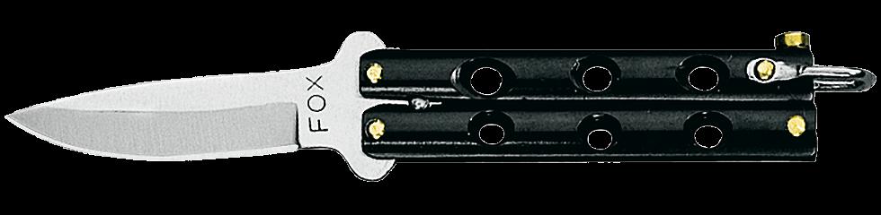 Fox mini-papillon noir-0