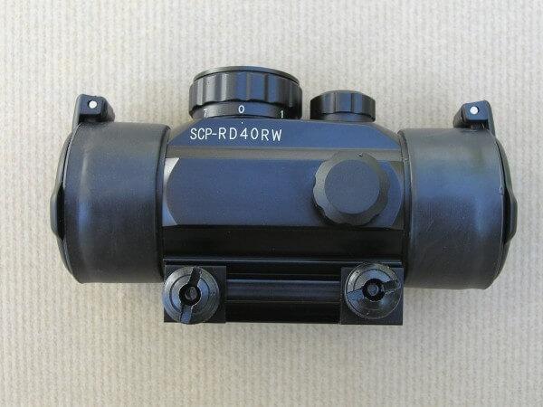 Red dot swiss 40mm avec weaver-0