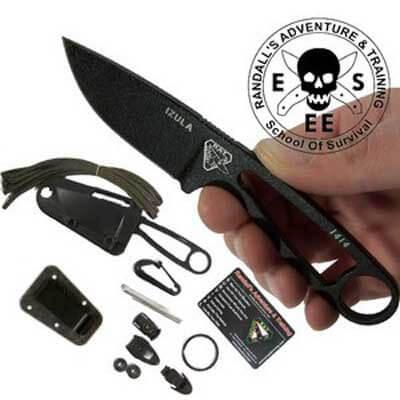 ESEE knives IZULA noir +KIT-0