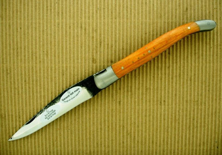 Laguiole en Aubrac 12cm brut de forge araucaria-0