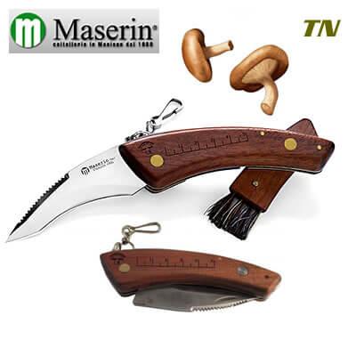 Maserin Couteau champignon bubinga-0