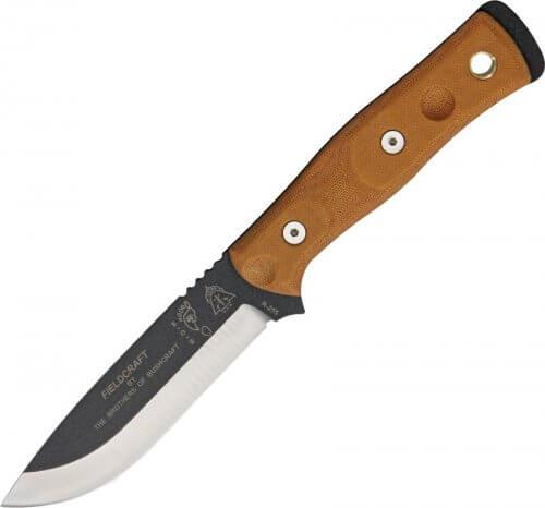TOPS knives BOB Hunter knife Brown