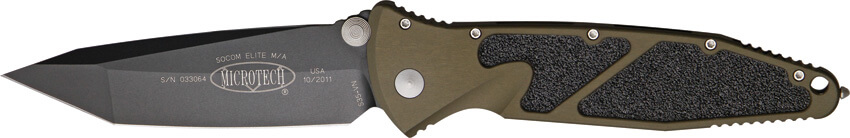 Microtech Socom Elite Green tanto-0