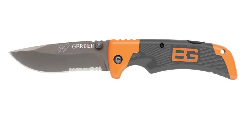 Gerber Bear Grylls Scout folding sheath knife-0