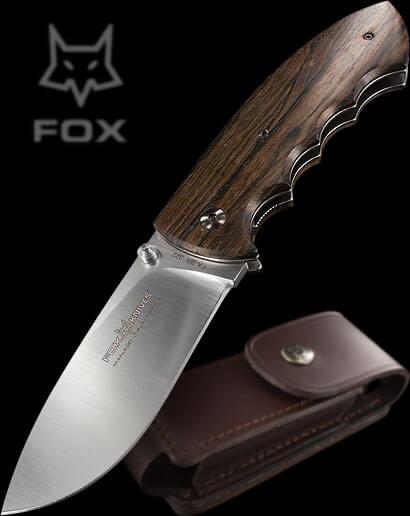 Fox Hunting knife ziricote-0