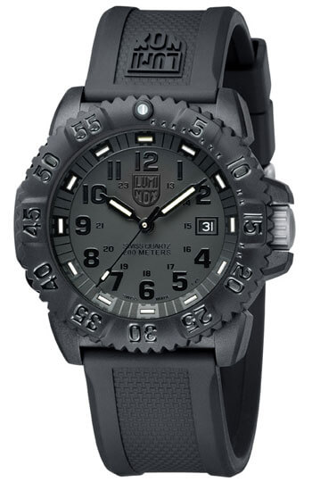 Luminox Seal Steel Colormark 3150 Series ref. 3051.BO-0