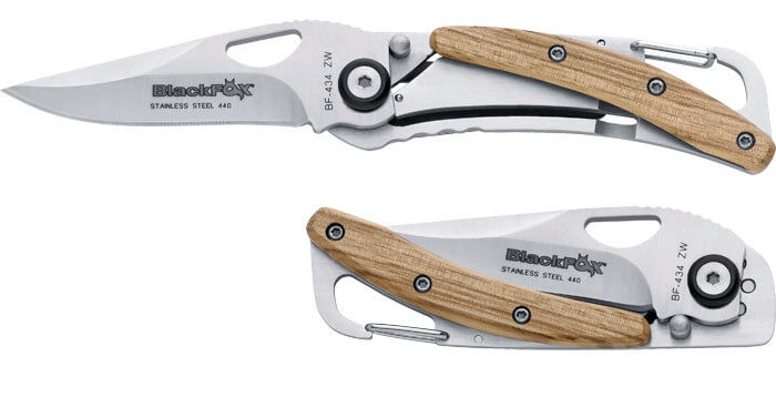 Fox Black pocket knife-0