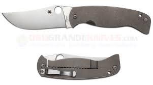 Spyderco K-2 Farid titanium-0