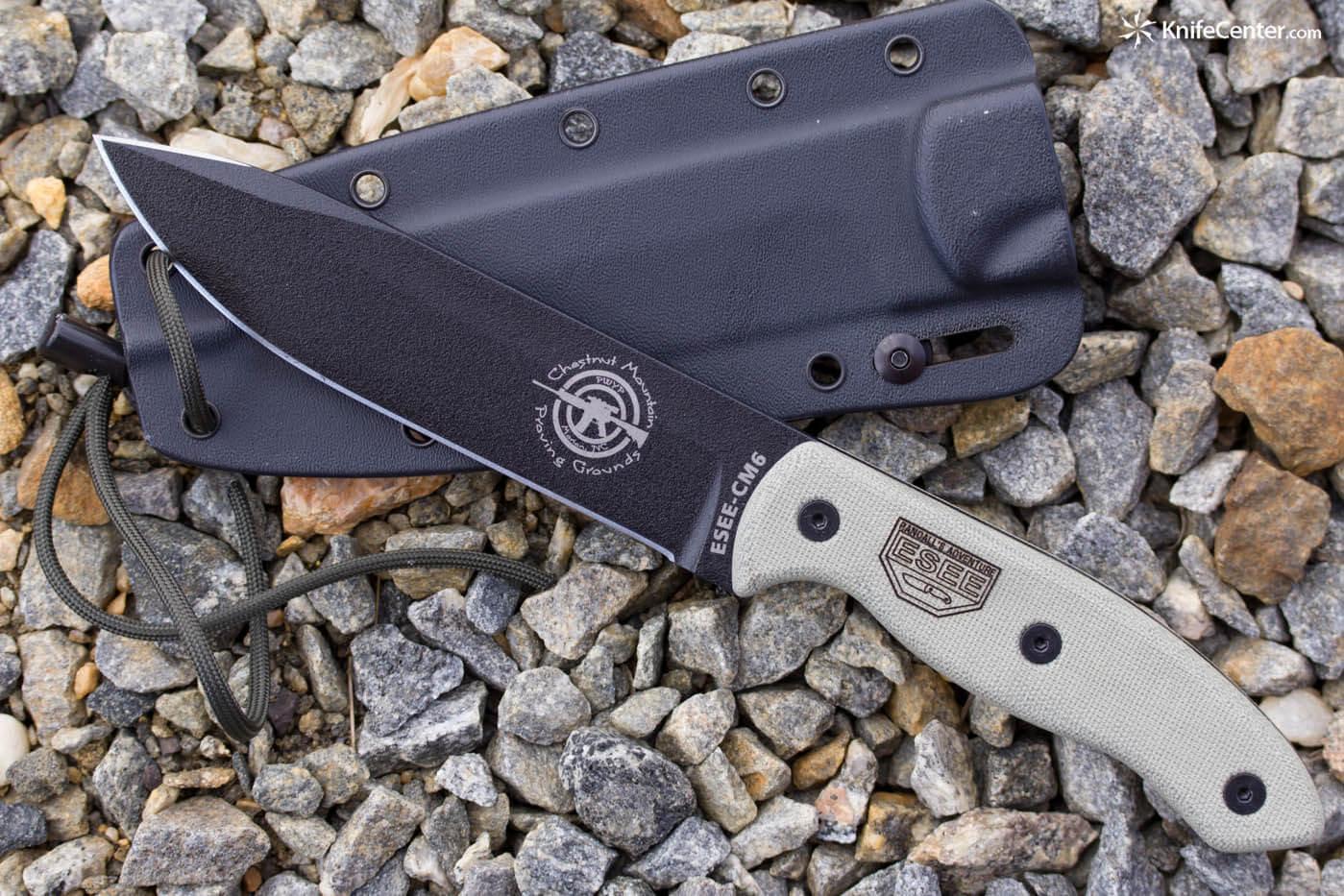 ESEE CM6 combat fixed blade-0