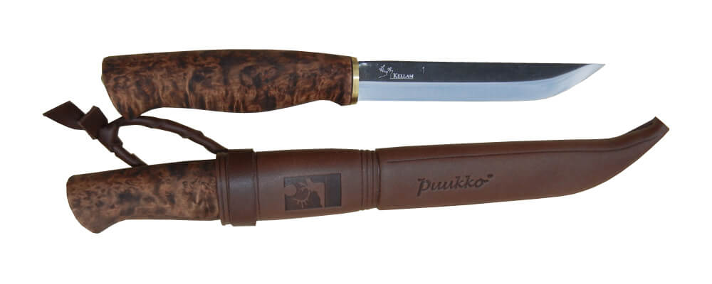 Puukko Kellam PR5 Birch Handle-0