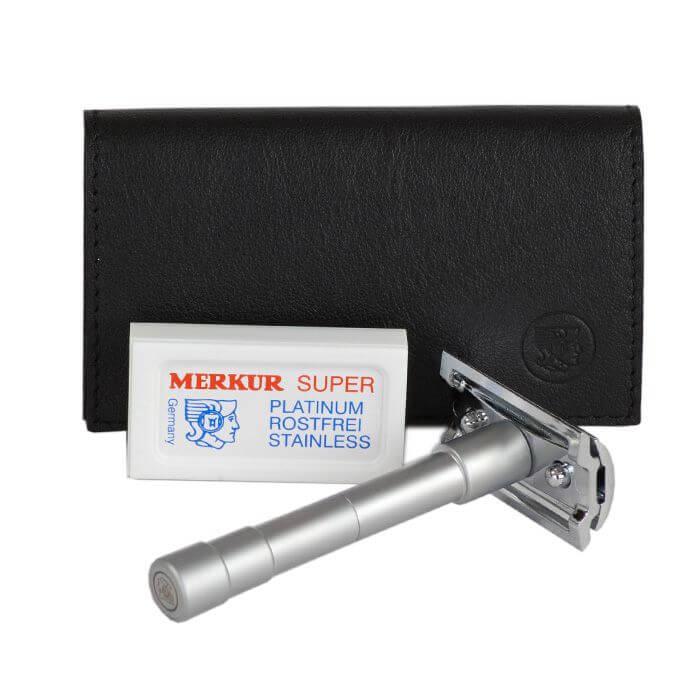 Rasoir Merkur sécurité tête démontable-0