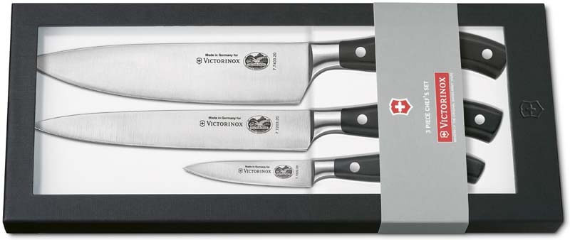 victorinox set 3 couteaux cuisine couteaux. Black Bedroom Furniture Sets. Home Design Ideas
