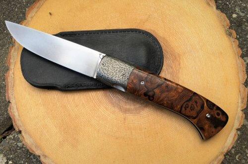 joel grandjean couteau bois de fer